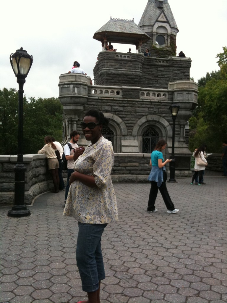 Ghada at Belvedere Castle
