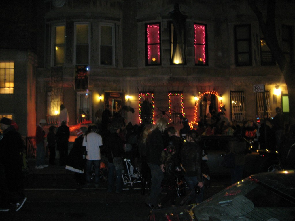 Upper West Side Halloween night