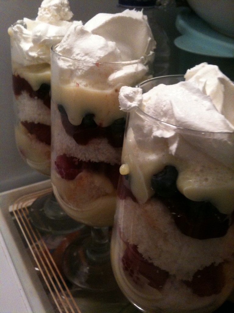 single serve trifle