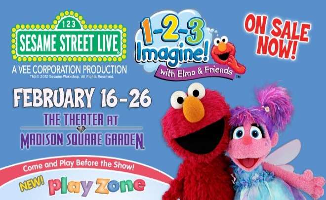 Elmo 1-2-3 Imagine! at Madison Square Garden