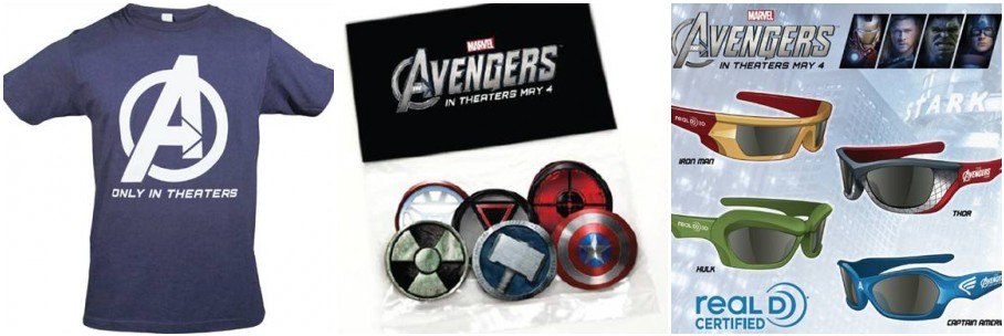 Marve's The Avengers Prize Pack