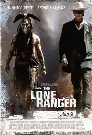 Disney's The Lone Ranger Poster