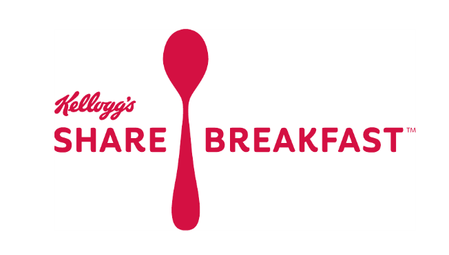 Kellog's Share Breakfast Campaign logo