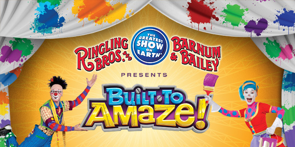 Ringling Brothers Circus Built to AMaze!