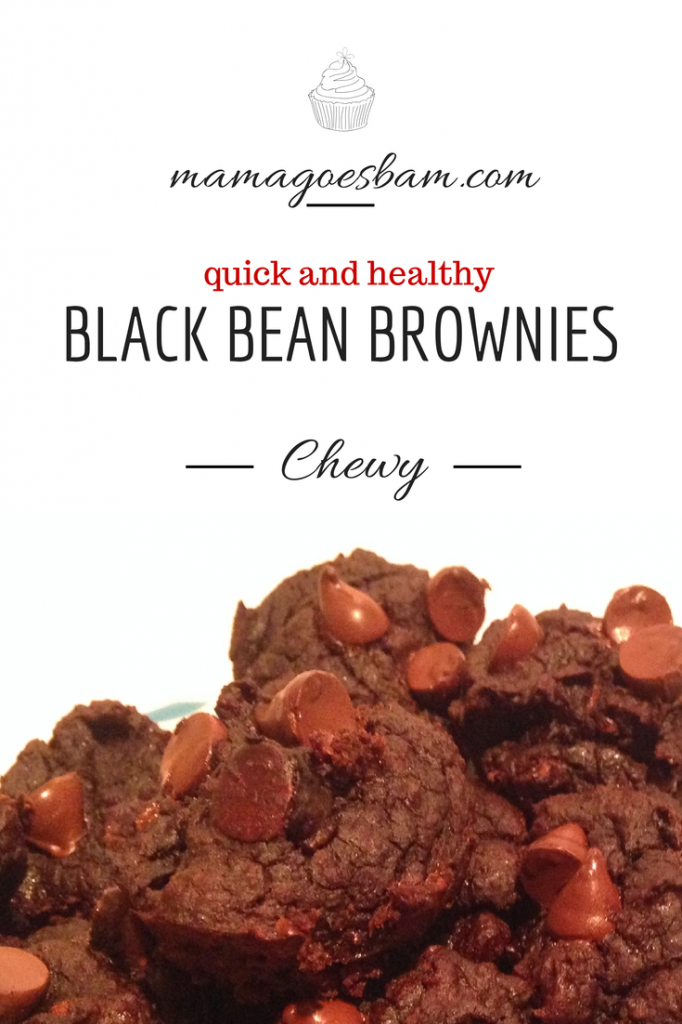 Easy healthy black bean brownie recipe