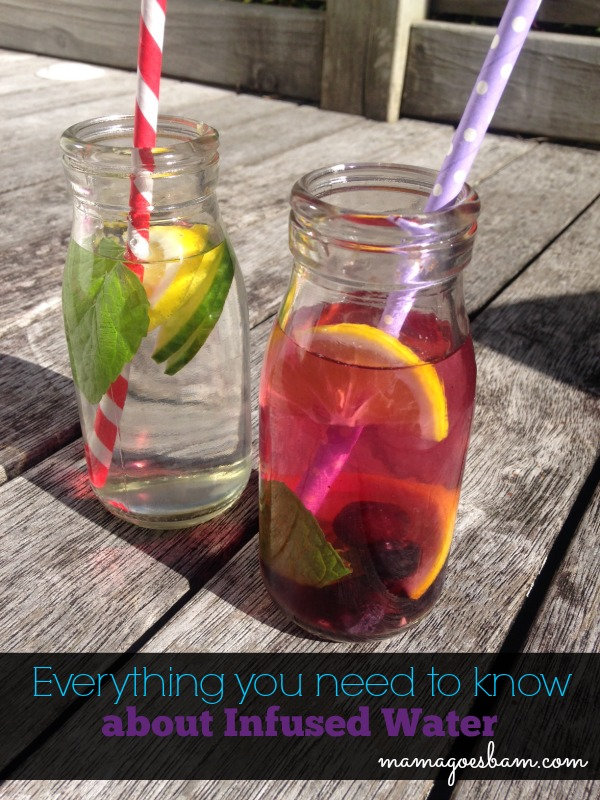 infused water FAQ